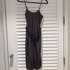 Rebecca Taylor silk midi dress
